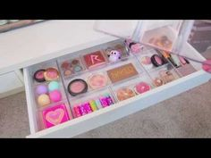 three candle holder walmart▶ Vanity Makeover ~ Makeup Organization & Storage Ideas - YouTube