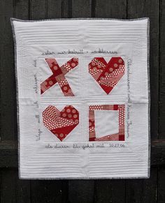 Gorgeous paper piecing mini-quilt