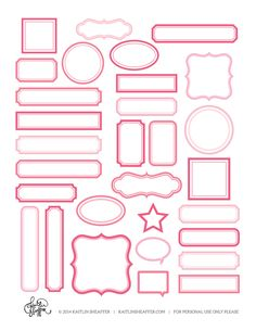 Label Series // Pink