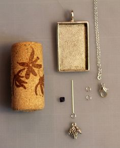 How to Make Your Own Wine Cork Necklace