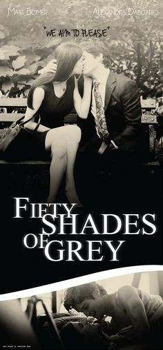 "Adore the cover of this Fifty Shades of Grey . just like i used to say ""it's not about porn or violence . it's a romantic in different way."" Figure out my thoughts"