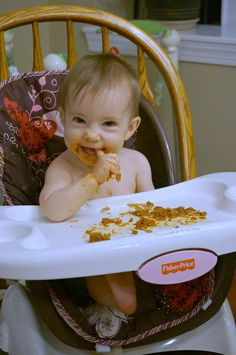Baby led weaning is easy and fun! Check out these simple and healthy meal ideas appropriate for an 8 month old baby.