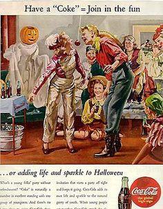 vintage halloween advertisement | adbranch.com