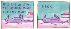 These comics may look simple but they portray a realistic view of anxiety.