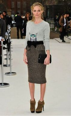 Kate Bosworth in Burberry