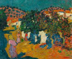 Louis Valtat (1869-1952) Rue du village, Espagne  IMPRESSIONIST AND MODERN ART 1 Mar 2018, 17:00 GMT  LONDON, NEW BOND STREET