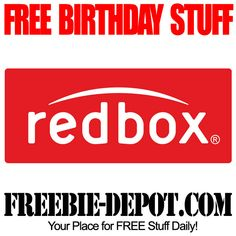 BIRTHDAY FREEBIE – Redbox The offer code for the FREE DVD Rental will be emailed to you and will be valid for 3 weeks.
