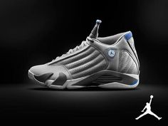 """066af9669dbc Here is new images of the 2014 Air Jordan 14 Retro """"Sport Blue  Grey"""