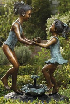 Bring the playful reverie of childhood and the sweet bonds of sisterhood to any outdoor space.