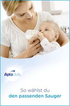Fläschchen richtig zubereiten: Flaschensauger gibt es in vielen Formen und Größen. Aptaclub sagt dir, worauf es bei der Wahl des richtigen Saugers ankommt. Wichtiger Hinweis: Stillen ist die beste Ernährung für dein Baby.