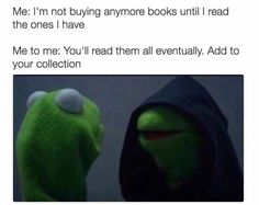 Book humor jokes about the secret thoughts all bookworms have.