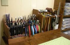 by Judy Ellis, Wirejewelry.com Wire Jewelry Tip for March 30th 2016 Build A Tool Rack by Judy Larson If you are like me you have tools, tools, and more tools, Sometimes its hard to keep them all straight. Today I'm sharing a great step by step tutorial from Judy Larson on building your own Tool [...]