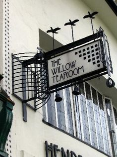 Willow Tea Room Glasgow, Scotland by Charles Rennie Mackintosh