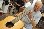 Ralph Finocchio, of Palmer Township, has been working as a luthier since 2010.