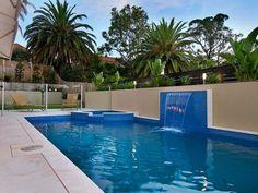 Typical Australian urban pool design #modernpooldesigns #backyard #PropertyRepublic www.propertyrepublic.com.au