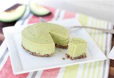 Raw Coconut Avocado & Lime Cheesecake
