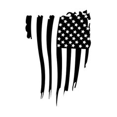 Rustic American Flag Decal,Windshield decal, Ford, Chevy
