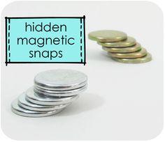 Using hidden magnetic snaps