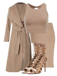 """Untitled #2851"" by xirix ❤ liked on Polyvore featuring River Island and Aquazzura"