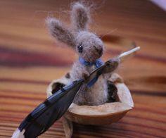 Bunny in a Walnut Shell, Jennifer Markens, Cranston, MA.