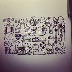 Tiny fan art. #stevenuniverse #beeandpuppycat @Rebecca Sugar @ChannelFred @Jourdyn Smith @Cartoon Hangover Steven Universe, Cartoons, Sketches, Sugar, Fan Art, Drawings, Cartoon, Cartoon Movies, Doodles