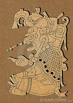 Maya - Illustration From Mayan Dresden Codex