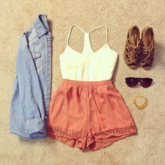 cute summer outfit #PrimerasVecesByCyzone