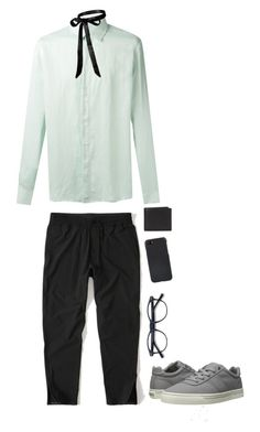 """Hmmm"" by yamaguchi-tadashi ❤ liked on Polyvore featuring Abercrombie & Fitch, Qasimi, Coach, Shinola, Polo Ralph Lauren, men's fashion and menswear"