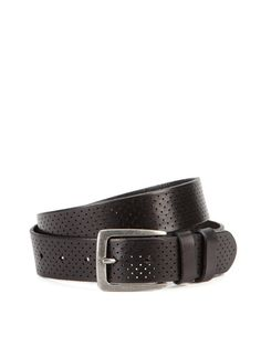 Perforated Leather Belt by Via Spiga on Gilt.com