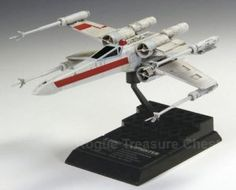 F-Toys confect DISNEY STAR WARS VEHICLE COLLECTION 5 #2 Rebel X-Wing Starfighter (Red Leader) 1/144 Scale Model Figure Red