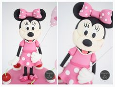 Minnie Mouse Gum Paste Cake Topper : Design @ 409