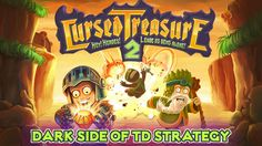 Cursed Treasure 2 on App Store:   Hordes of good heroes are on the hunt again hungry for even more gems for the King's private collection. Gather dark forces and build towers to defen...  Developer: Armor Games Inc  Download at http://ift.tt/1sDnueV