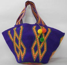 Beach Bag- Boho wayuu tote