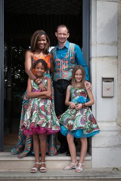 REAL WEDDINGS - KATIE & PHILIPPE | Read the interview on V-Inspired | #vlisco #wedding
