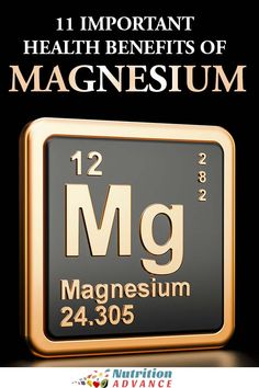 Magnesium is an essential mineral that plays a vital role in our body. This article examines 11 important health benefits of magnesium. Magnesium Benefits, Magnesium Supplements, Health Benefits, Nutrition Articles, Health And Nutrition, Health And Wellness, Health Tips, Desserts Keto, Sleep Exercise