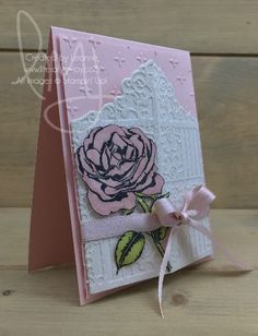 So Sorry | Stampin\' Up! | Graceful Garden | Sorry for Everything #literallymyjoy #rose #gate #sympathy #stampinblends #sorry #treasuremoments #memories #20172018AnnualCatalog