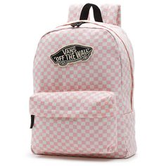 The Vans Checkerboard Backpack is a 100% cotton washed canvas backpack with 100% polyester lining, a main zippered compartment, a front organization pocket, and a classic allover checkerboard print. Measuring 16.75 L x 12.75 W x 4.57 D inches, it has a 22-liter capacity.