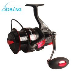 Sale 24% (34.49$) - Bobing 9000-11000 Series Of Metal Fishing Spinning Reel 13 1BB  Long Shot Wheel Distant Fishing Reel
