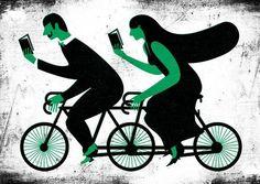 Reading together (illustration by Andre da Loba).