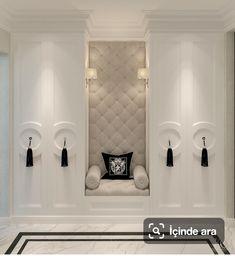Master Closet Seating Cabinets 35 Ideas For 2019 Classic Interior, Home Interior Design, Interior And Exterior, Interior Decorating, Luxury Interior, Luxury Furniture, Furniture Design, Closet Bedroom, Master Closet