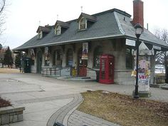 Old Canadian Train Stations, Quebec and Ontario
