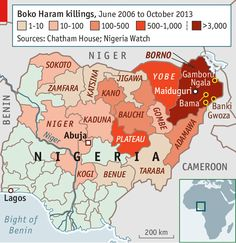 FROM a ragtag band of fighters conducting sporadic raids and bombings from its hideouts, Nigeria's Boko Haram is fast evolving into a force able to take and hold...