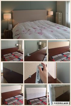 Ikea hack | malm bed | headboard