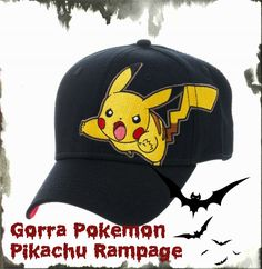 Gorra Pokemon Pikachu Rampage