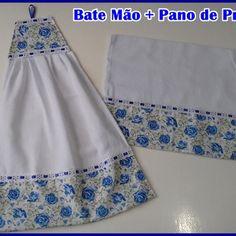 Bate mão atoalhado no Elo7 | Di Lourdes (88CA21) 1, Two Piece Skirt Set, Summer Dresses, Dish Towels, Modern Platters, Print Fabrics, Easy Crafts, Quilts, Wafer Cookies