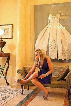 wedding dress in shadow box on display. Love this idea, it will always be there to look at.
