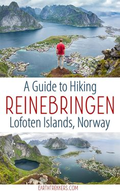 How to hike Reinebringen in the Lofoten Islands, Norway. #reinebringen #norway #lofotenislands #lofoten