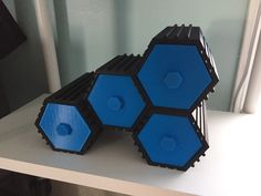 Image of Easy DIY Room Decor Ideas to Print: Stackable Hex Drawers 3d Printer Designs, 3d Printer Projects, 3d Projects, Project Ideas, 3d Printing Diy, 3d Printing Service, 3d Printing Industry, 3d Printing Technology, Easy Diy Room Decor