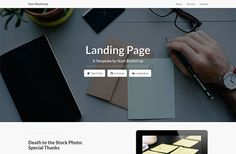Free Landing Page Bootstrap Templates