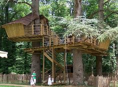 Unusual - Tree houses - Park Belle - Magne - Accommodation in Vienna